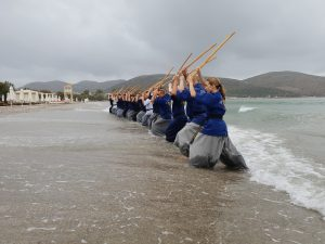Training in the sea